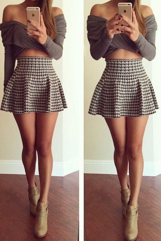 eb81ac2395 Las minifaldas tienen la hermosa ventaja de poder pasar de lo casual a lo  formal