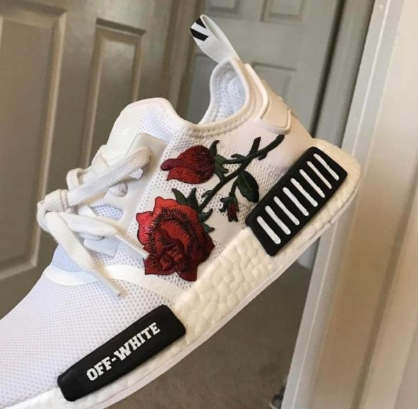 vans rosas bordadas