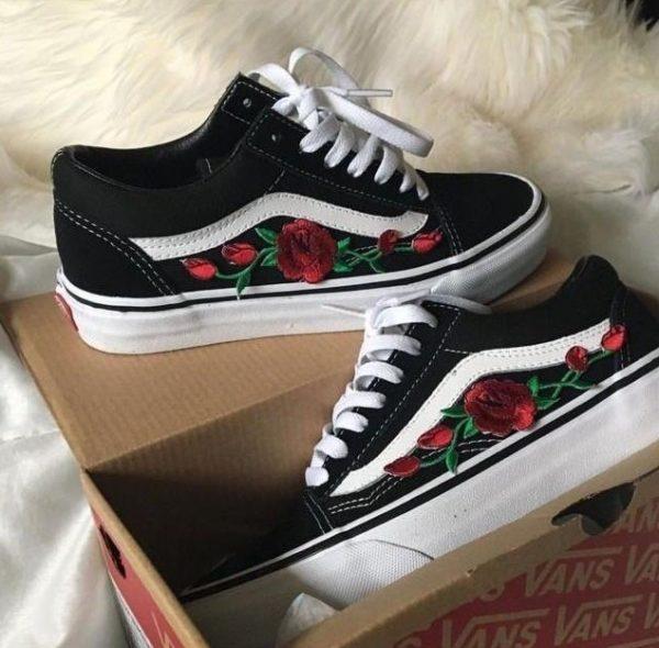 rosas para vans