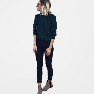 17 Outfits para la escuela con skinny jeans negros cd85defe0940
