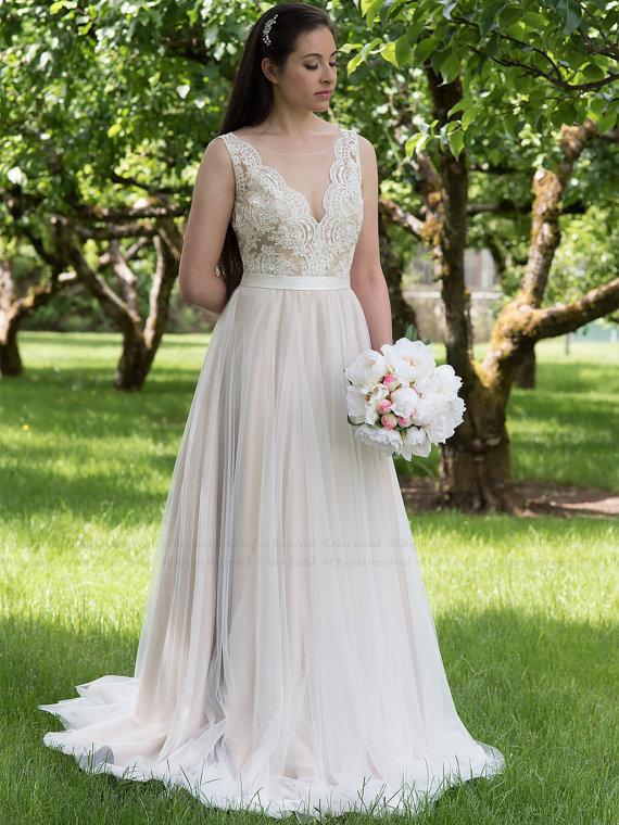 Vestido de novia bonito y barato
