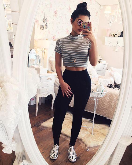 20 Outfits para ir a una fiesta en casa de tus amigas