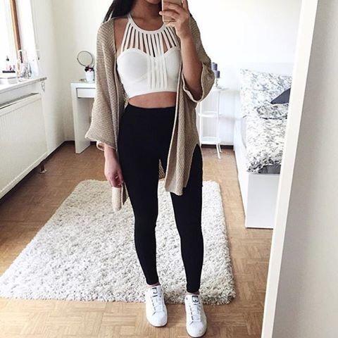 Outfits que le tienes que presentar a tus tenis blancos