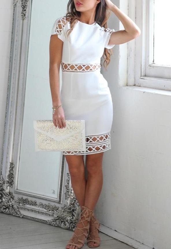 10 Vestidos blancos que usaru00eda si no me manchara siempre