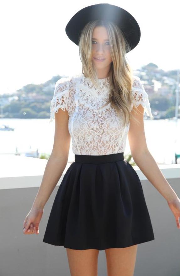 86275e81c Faldas negras que serán las nuevas protagonistas de tus outfits