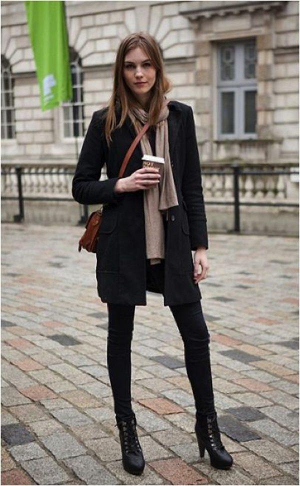 15 Outfits con botines para verte más chic y alta que tus ...