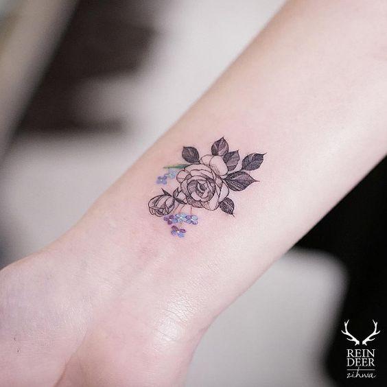 Diseos hermosos para un tatuaje en la mueca