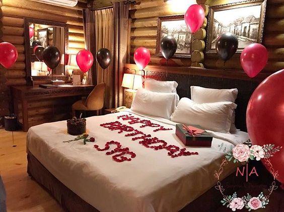 Ideas para decorar la habitaci n de tu novio en su cumplea os for Hotel room decor for birthday
