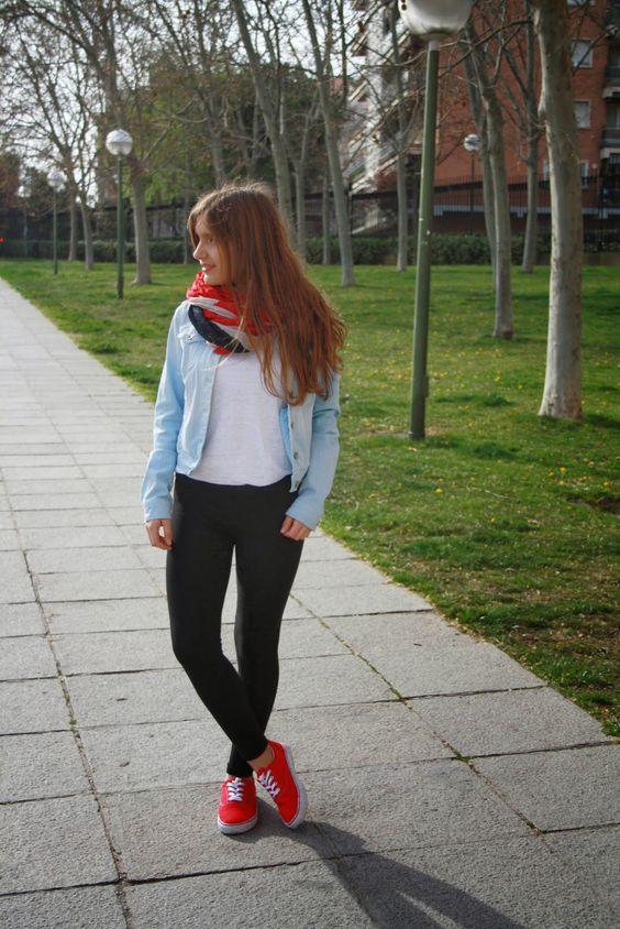Puedes Rojos Tus Outfits Presentar A Que Le Tenis 1FKlcTJ