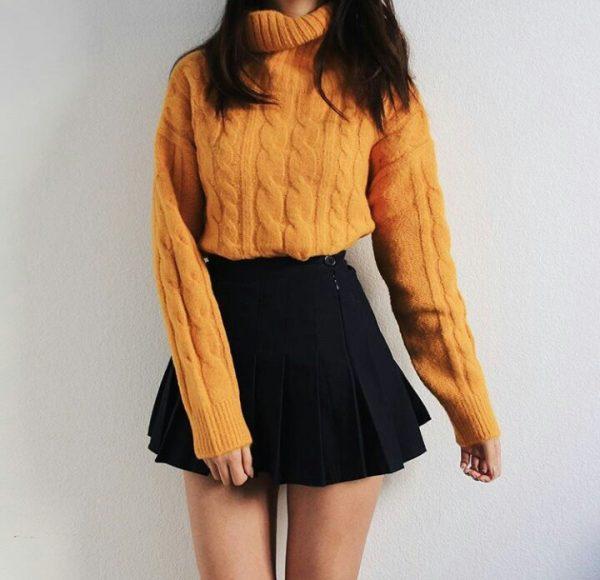 Outfits de oficina u2018negro y amarillou2019 que tienes que ponerte a la voz de ya