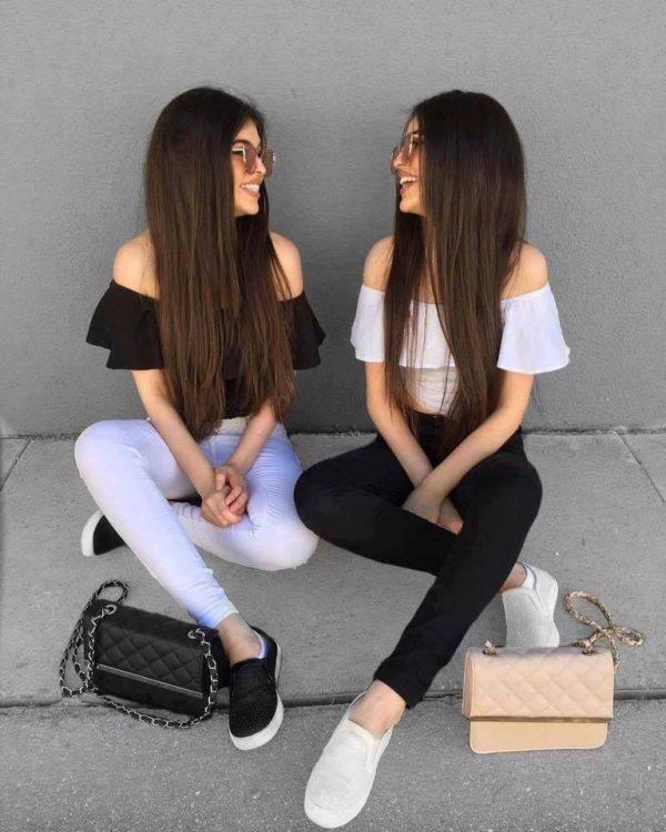 Dos chicas de compras tremendas colas - 2 part 3