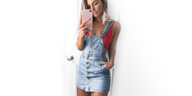 15 Outfits Que Te Motivarán A Usar Un Vestido Overol Esta