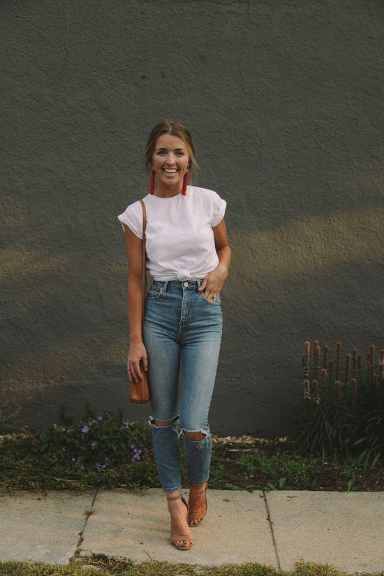 14 Combinaciones Coquetisimas Que Puedes Hacer Con Jeans A La Cintura