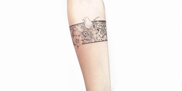 16 Tattoos De Brazaletes Exclusivos Para Ninas Con Gustos Finos - Tattoo-brazaletes