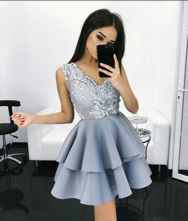 Vestidos finos cortos