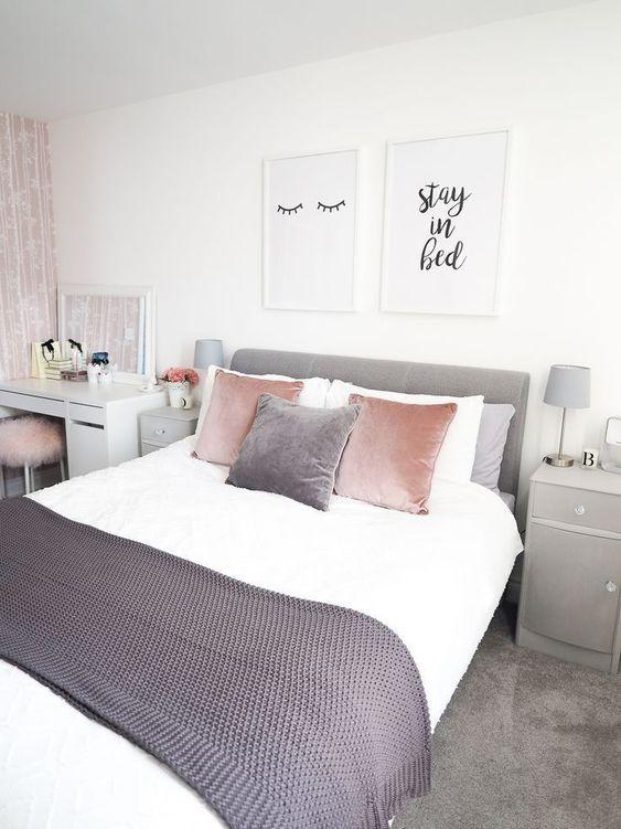 15 Habitaciones estilo Pinterest ¡para chicas con buenos ...