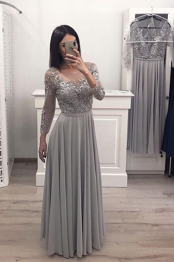 Vestidos Largos Lindos Casuales Vestidos Populares 2019