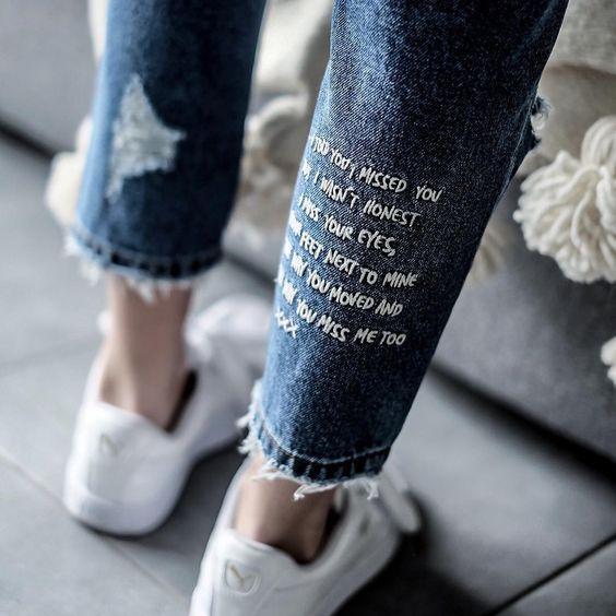 12 Ideas Para Darle Un Look Tumblr A Tus Jeans