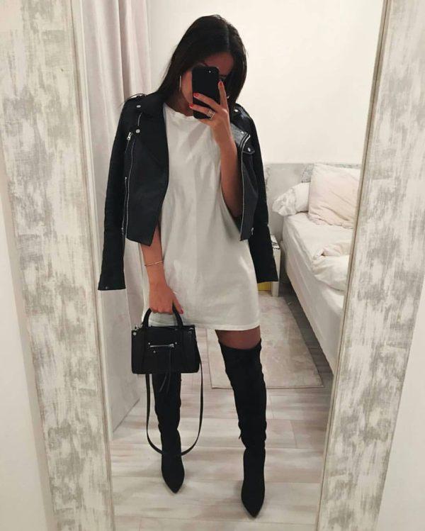 Cómo usar botas largas según Instagram