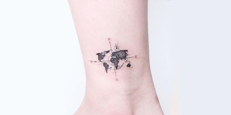 Viajes tatuajes Los mejores