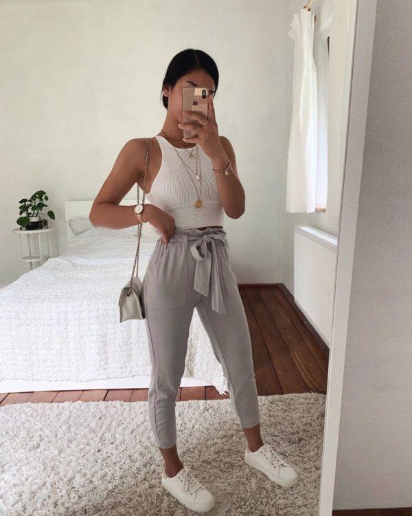 7 Outfits Chic Para Ponerte Tenis Los 7 Dias De La Semana